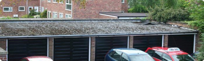 asbestos garage roof